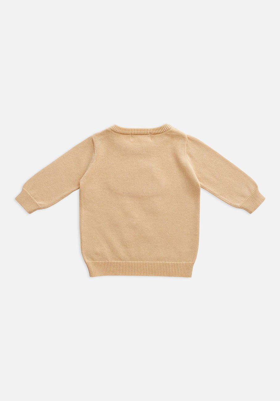 Miann & Co Baby - Knit Jumper - Rainy Cloud