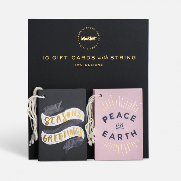 Peace and Seasons Christmas Gift Card