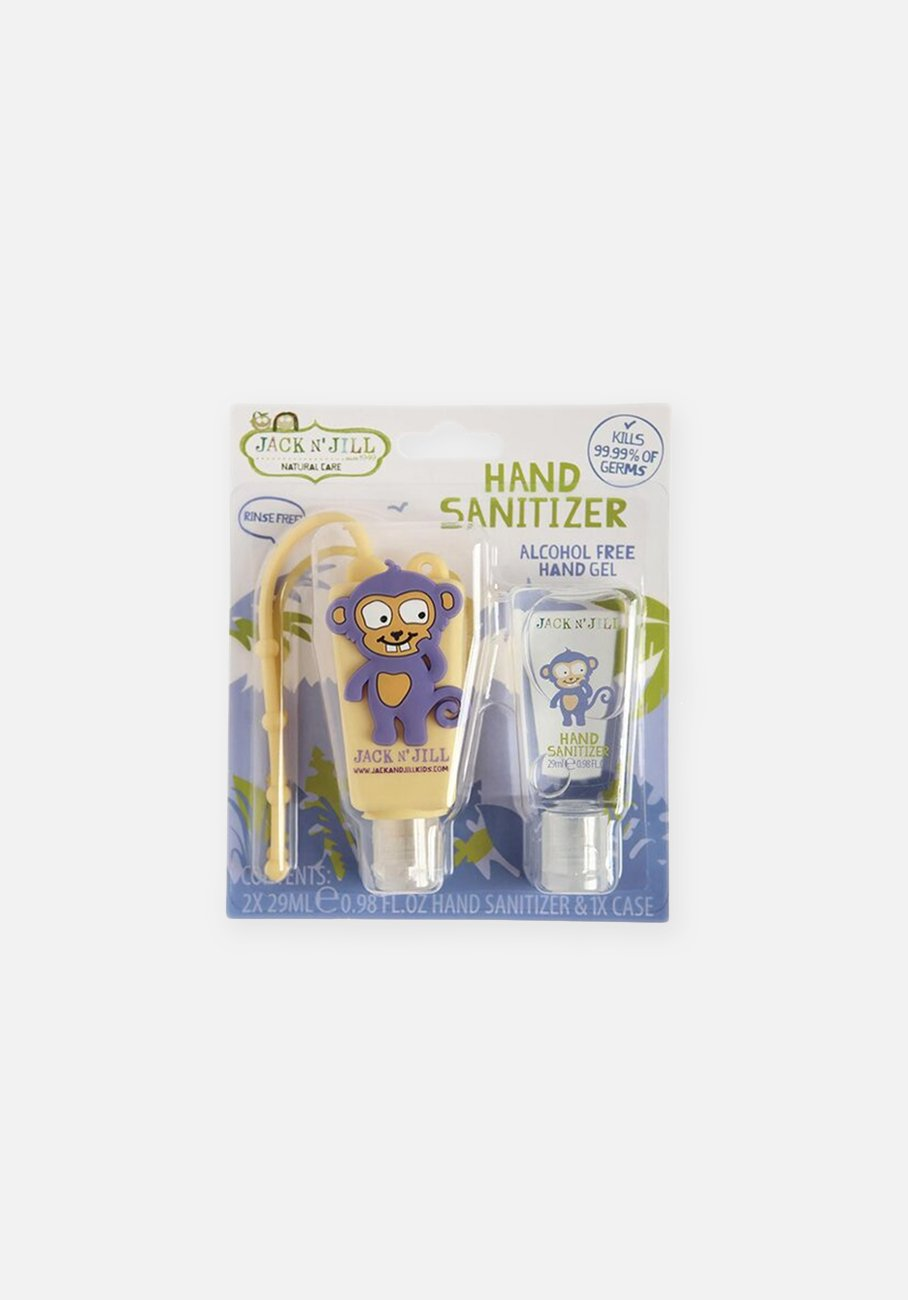 Jack N' Jill - Alcohol Free Hand Sanitizer & Holder  - Monkey