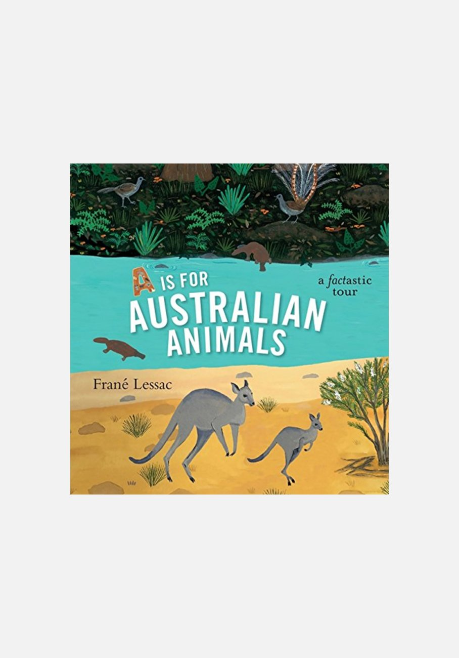 'A Is for Australian Animals' by Frané Lessac