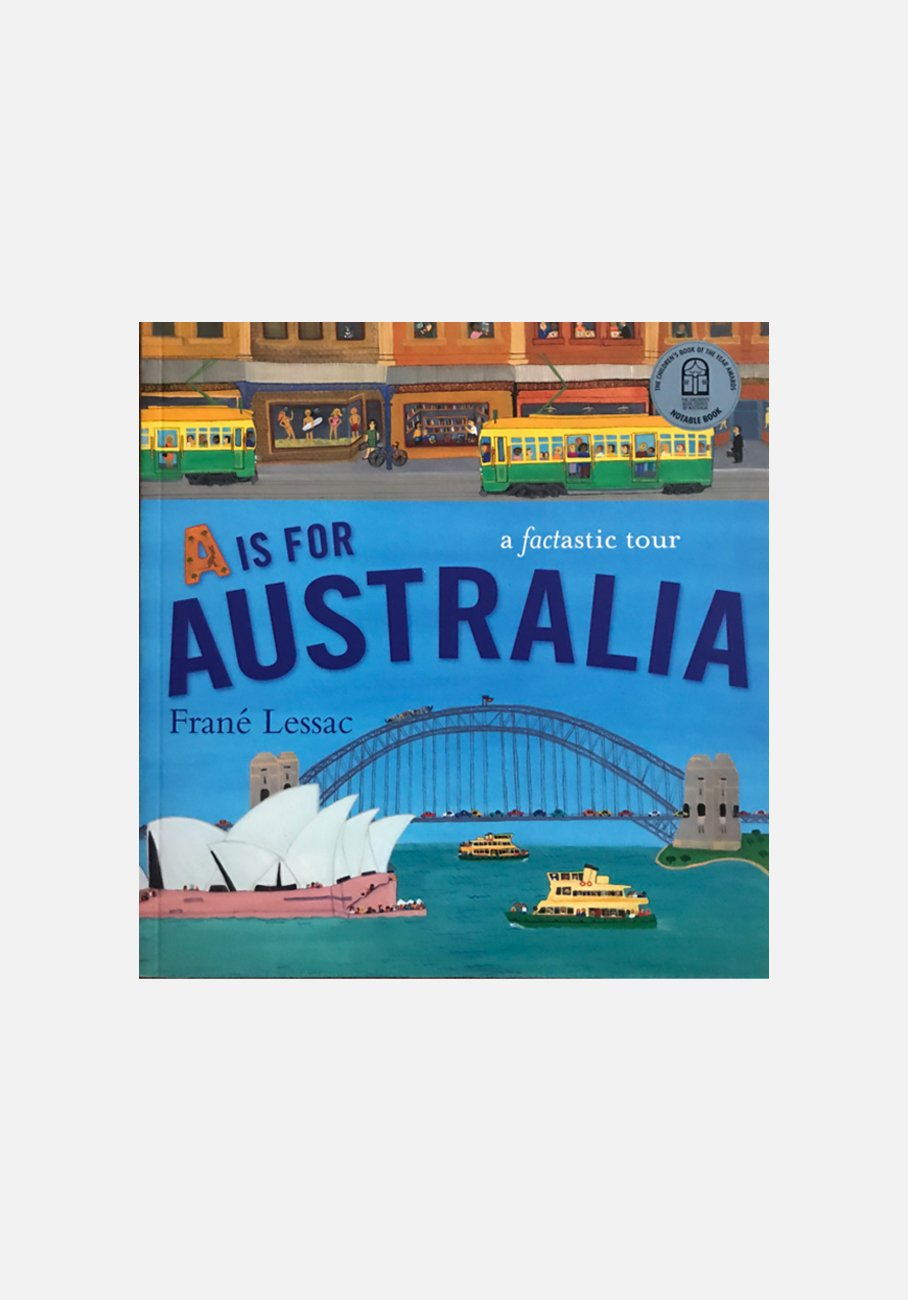 'A Is for Australia' by Frané Lessac