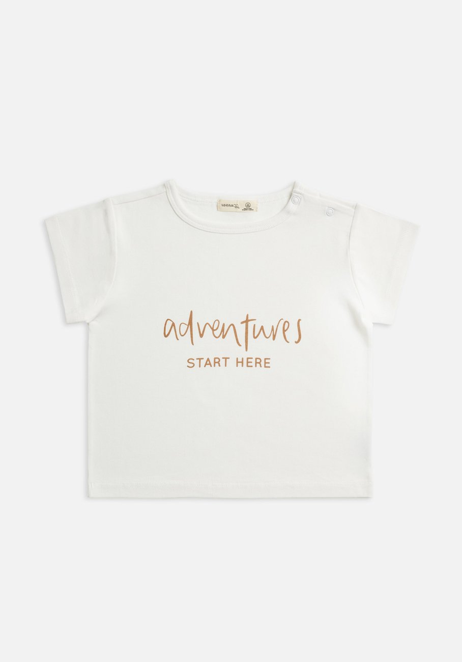 Miann & Co Kids - Boxy T-Shirt - Adventures Start Here