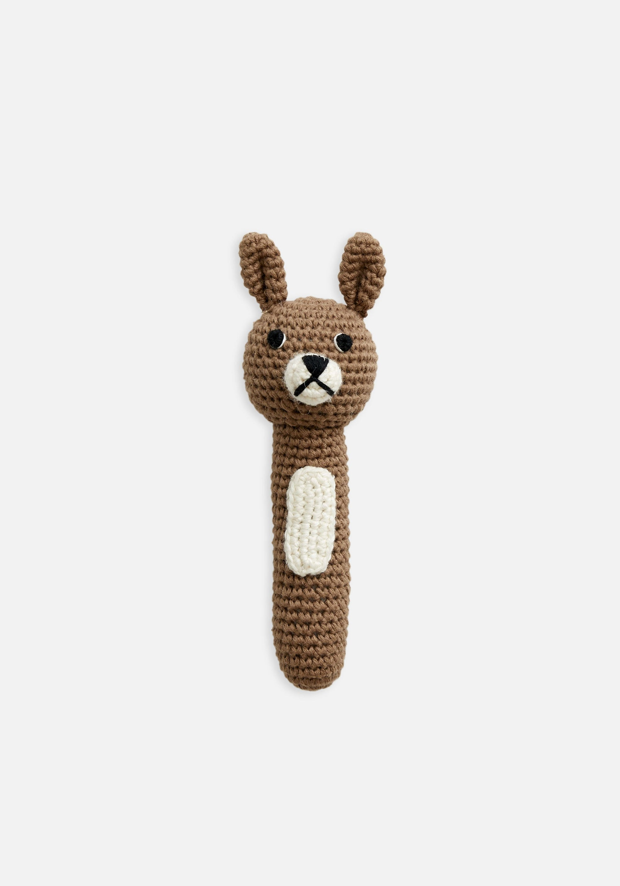Miann & Co Hand Rattle - Almond Bunny