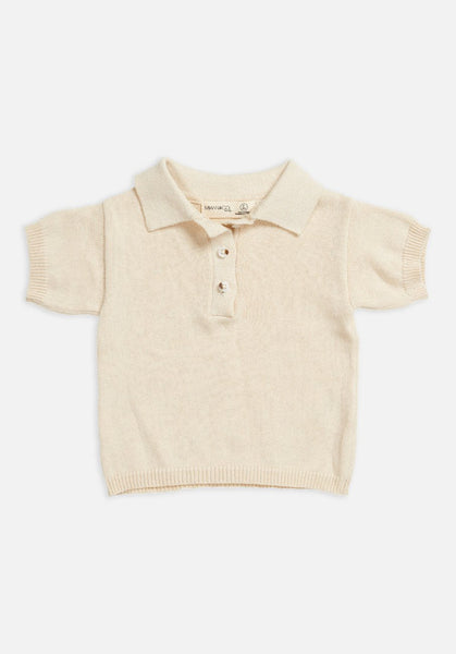 Miann & Co Baby - Short sleeve knit polo - MIANN & CO