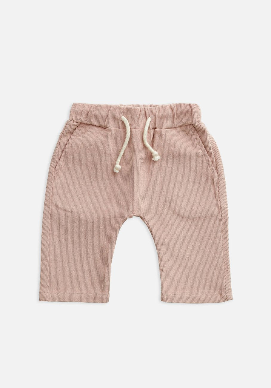 baby pink  cord pants