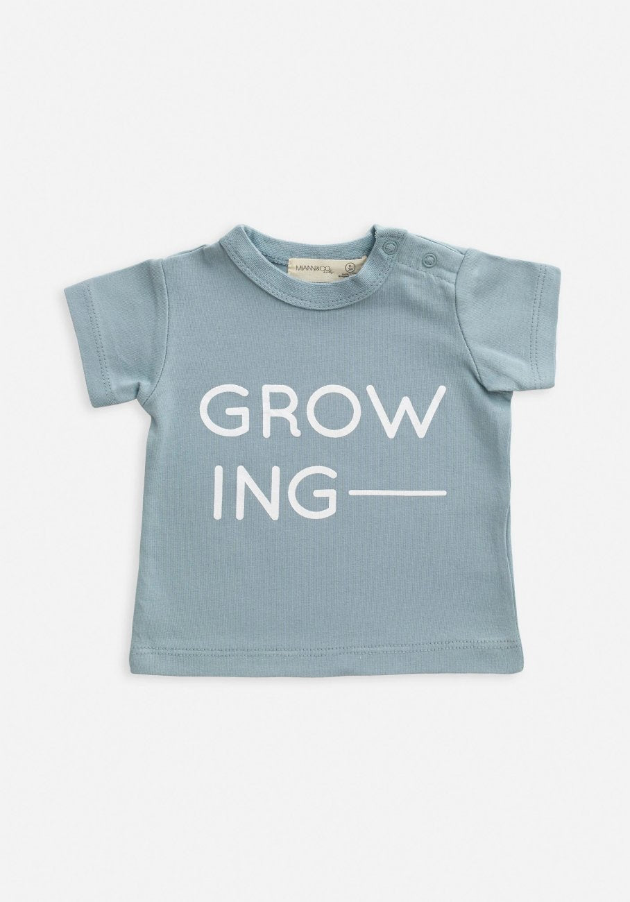 Baby growing t-shirt
