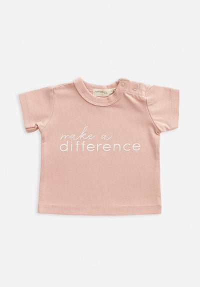 Baby make a difference t-shirt