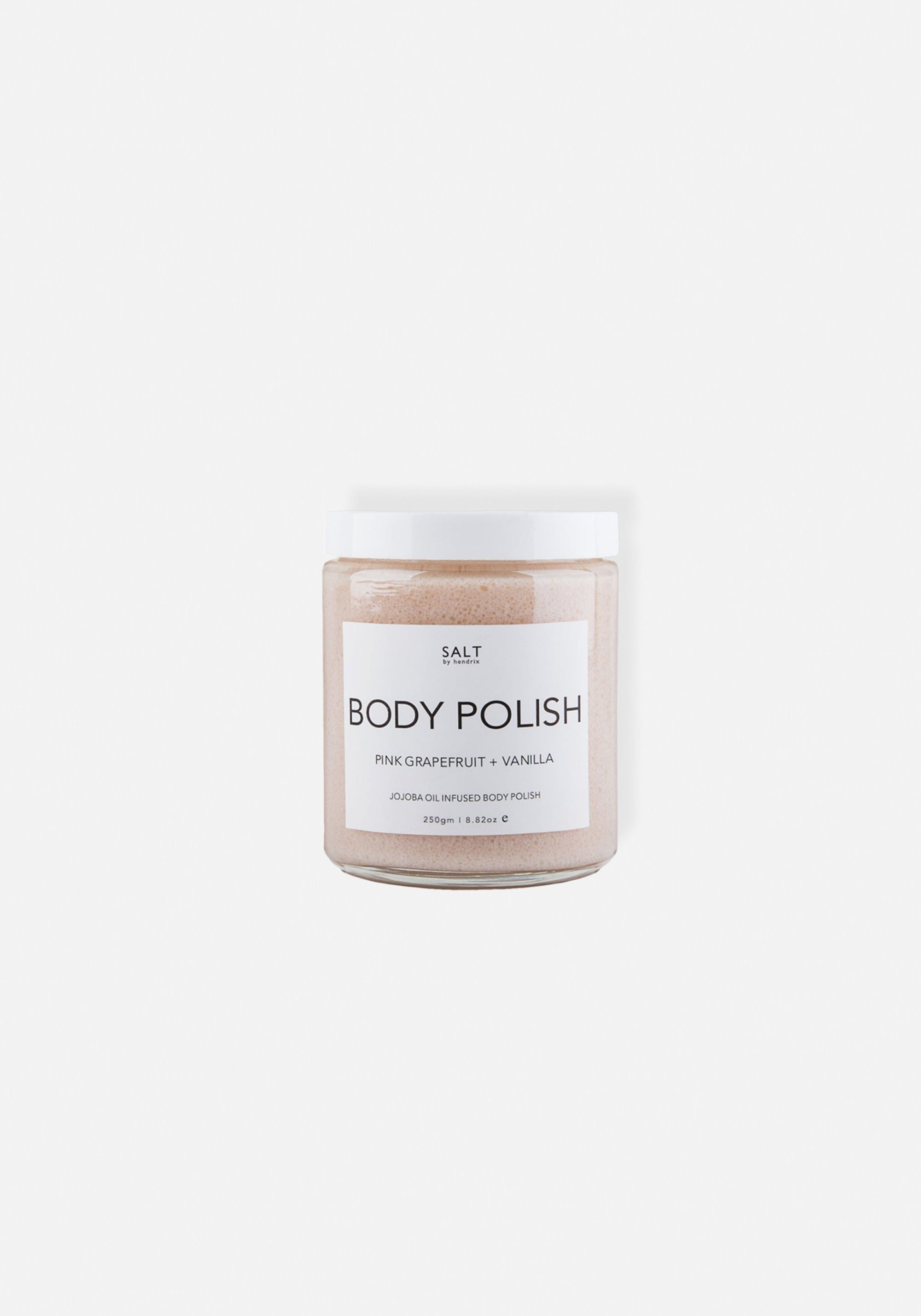 SALT BY HENDRIX - Body Polish - Pink Grapefruit & Vanilla