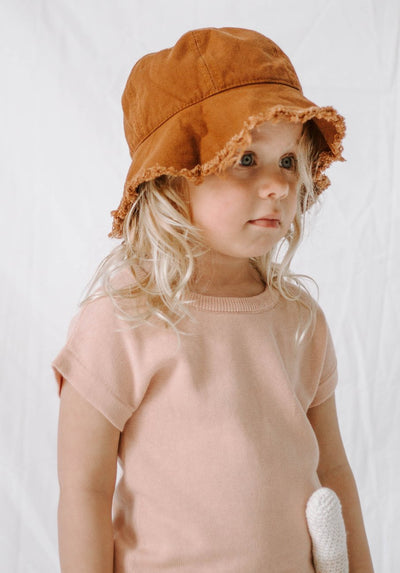 Miann & Co Kids - Bucket Hat - Rustic Brown