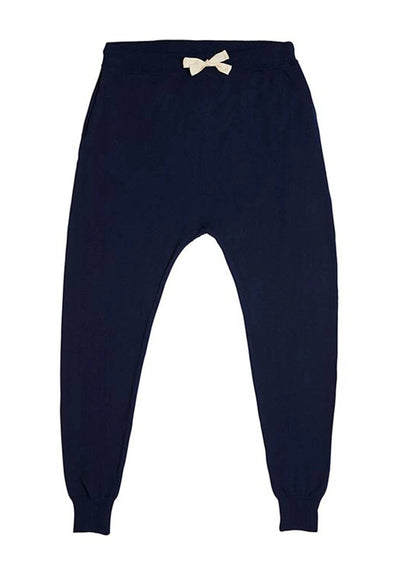 Chloe Knit Pant - Navy - MIANN & CO