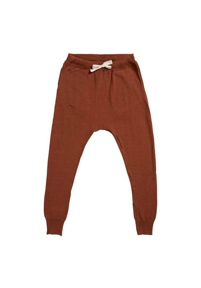 Chloe Knit Pant - Rust - MIANN & CO