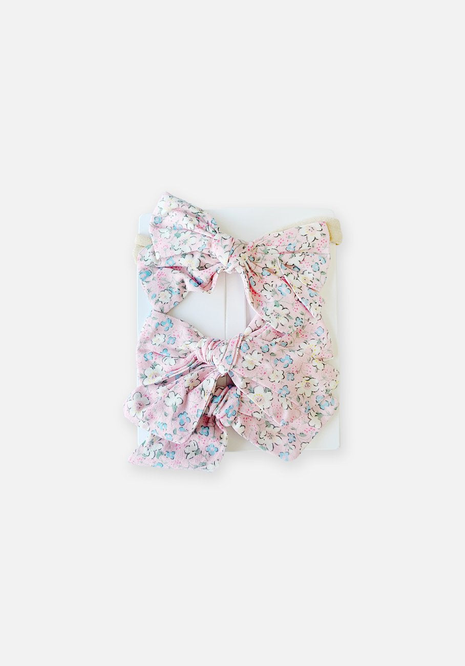 Hair Accessories Combo - Bubblegum Floral
