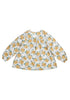 Womens - Courtney Top - Mustard Floral