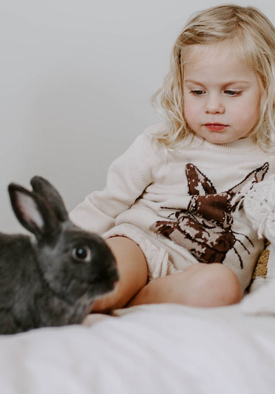 Miann & Co Kids - Knit Jumper - Coco Bunny