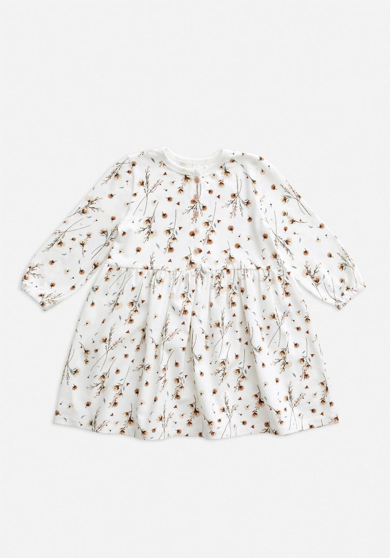 kids snow blossom flower dress