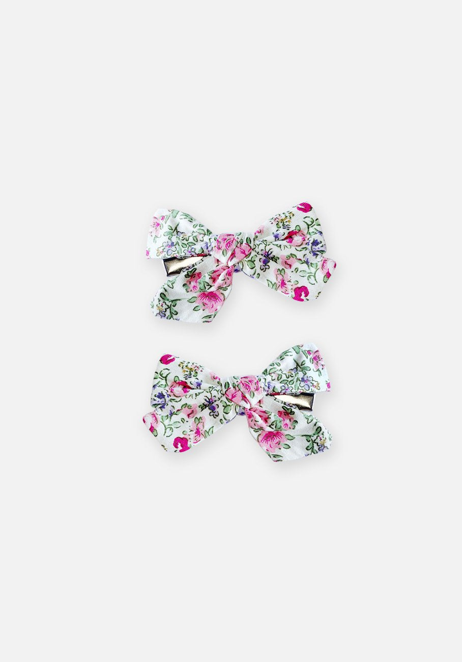 Large Bow Clip - Heritage Floral