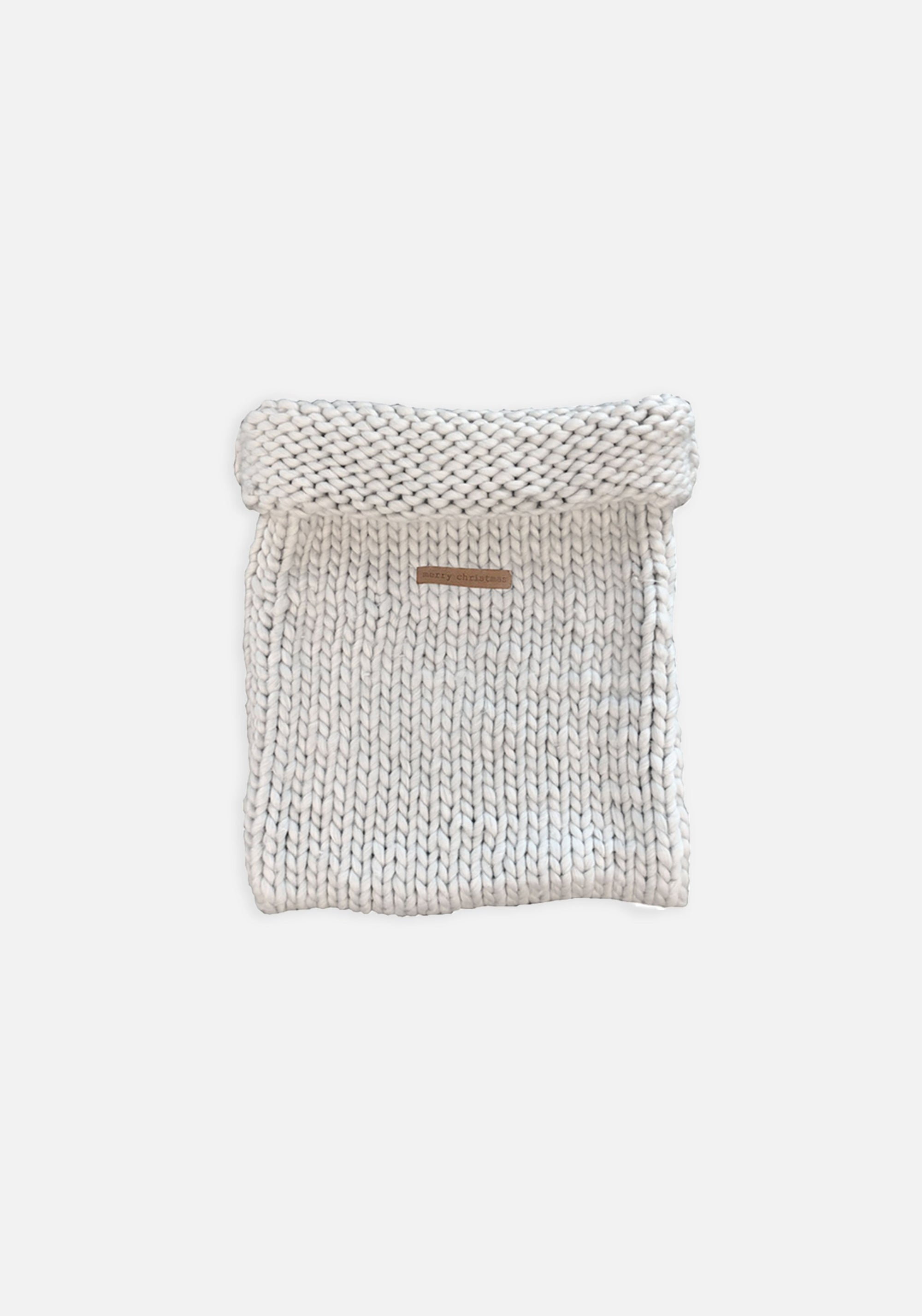 Grey Chunky Santa Sack - MIANN & CO