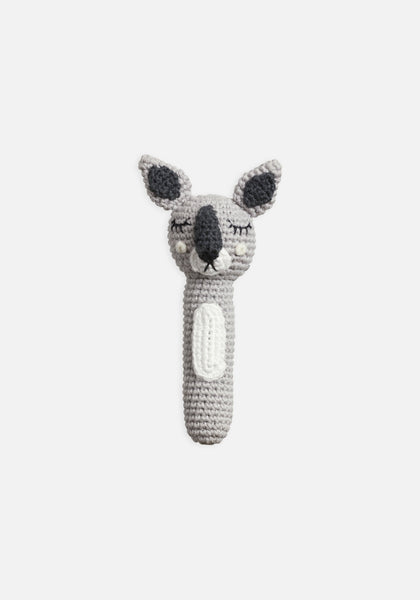 Miann & Co Hand Rattle - Grey Kangaroo