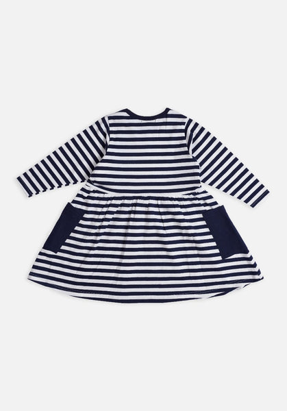 Miann & Co Kids dress - Classic navy stripe