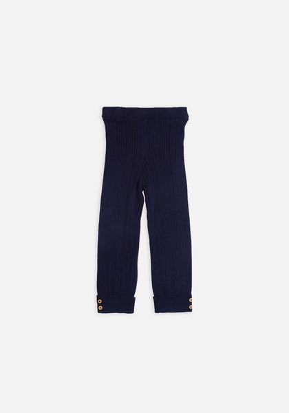 Miann & Co Baby – Rib Leggings – Navy - MIANN & CO