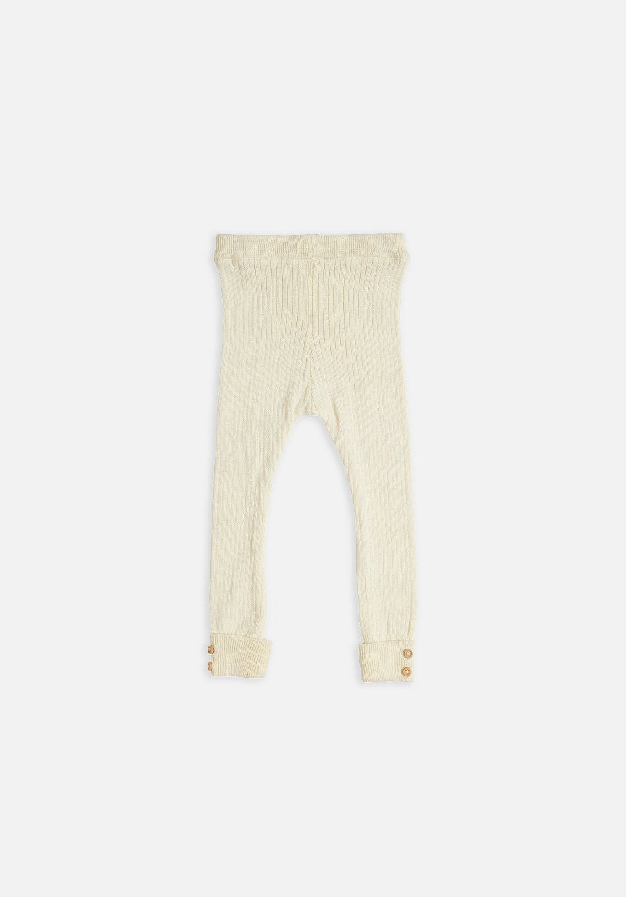 Miann & Co Kids - Rib Legging - Cream