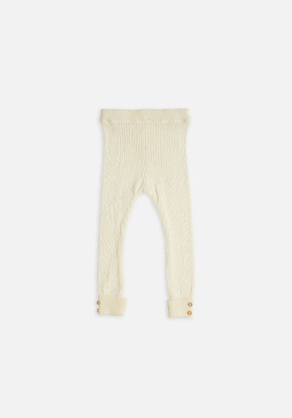 Miann & Co Kids – Rib Leggings – Cream