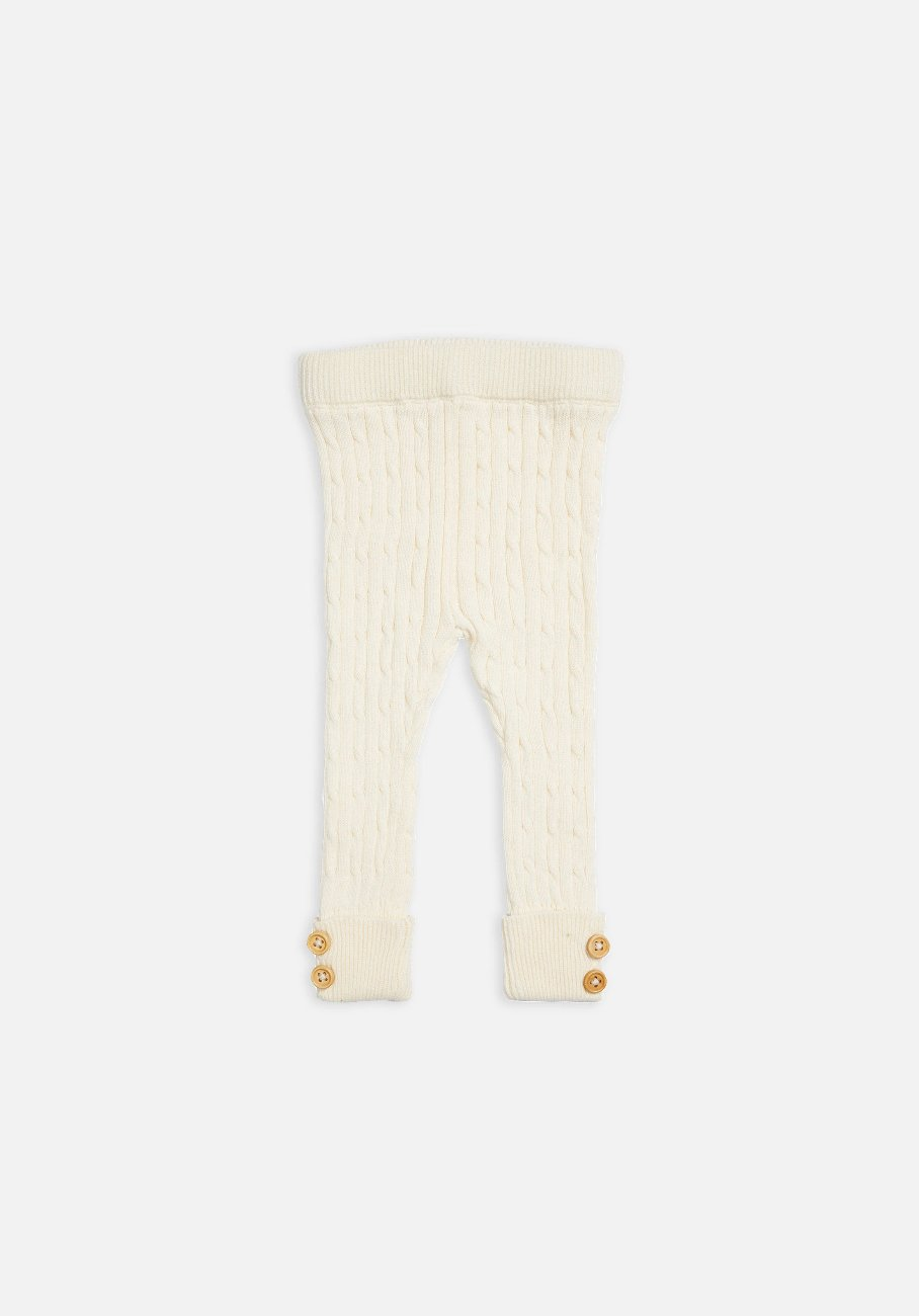 Miann & Co Kids - Textured Rib Legging - Sand