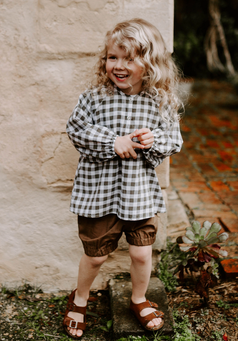 Miann & Co Kids - Woven Bloomer Shorts - Portebello