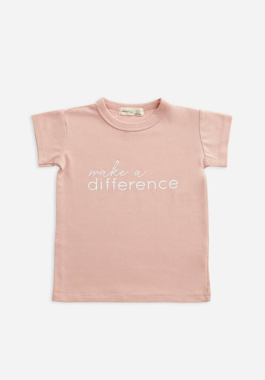 Miann & Co Kids - T-Shirt - Make A Difference