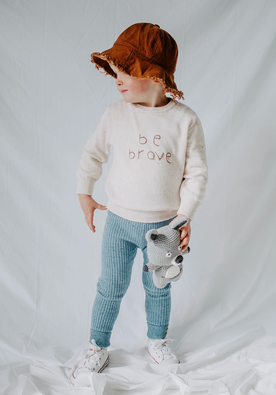 Miann & Co Kids - Knit Jumper - Be Brave