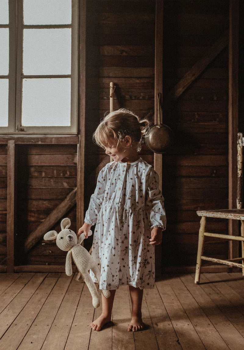 Miann & Co Kids - Long Sleeve Dress - Snow Blossom