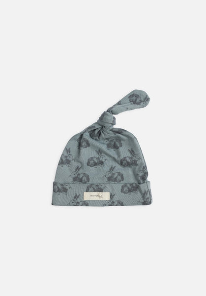 Miann & Co Baby – Knot Beanie – Mint Rabbit - MIANN & CO