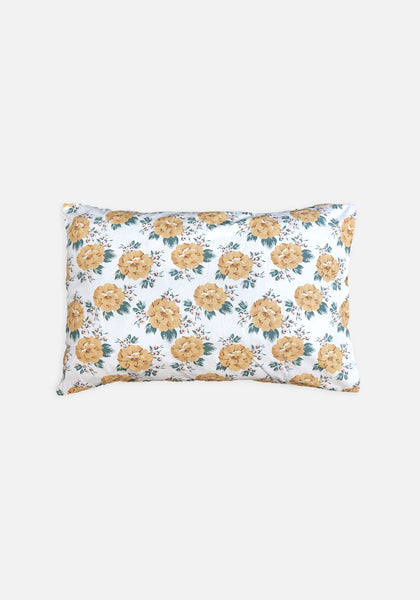 Miann & Co  Pillowcase Set - Mustard Floral - MIANN & CO