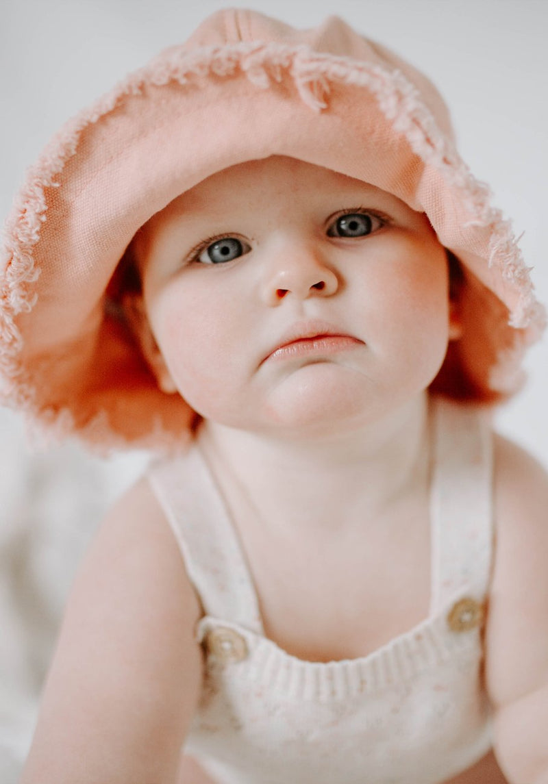 Miann & Co Kids - Bucket Hat - Blush Pink