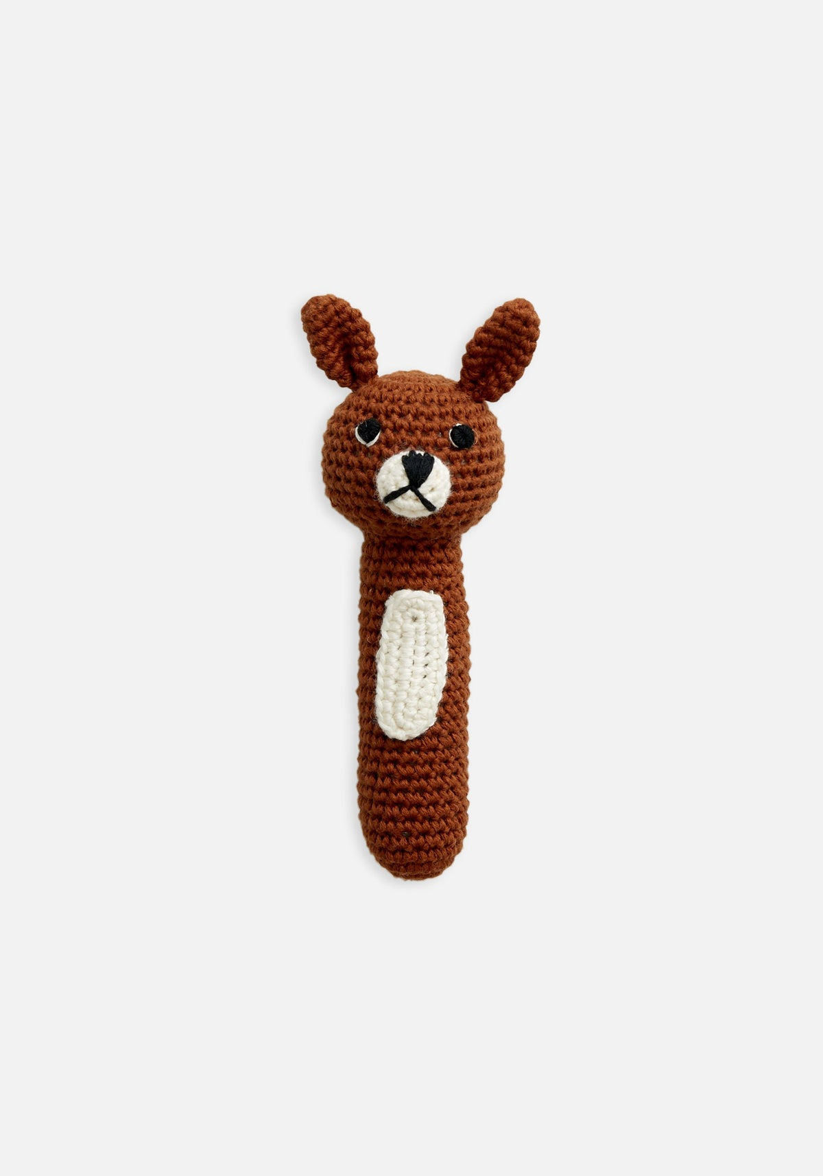 Miann & Co Hand Rattle - Pumpkin Spice Bunny