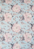 Rose Print Fitted Cot Sheet
