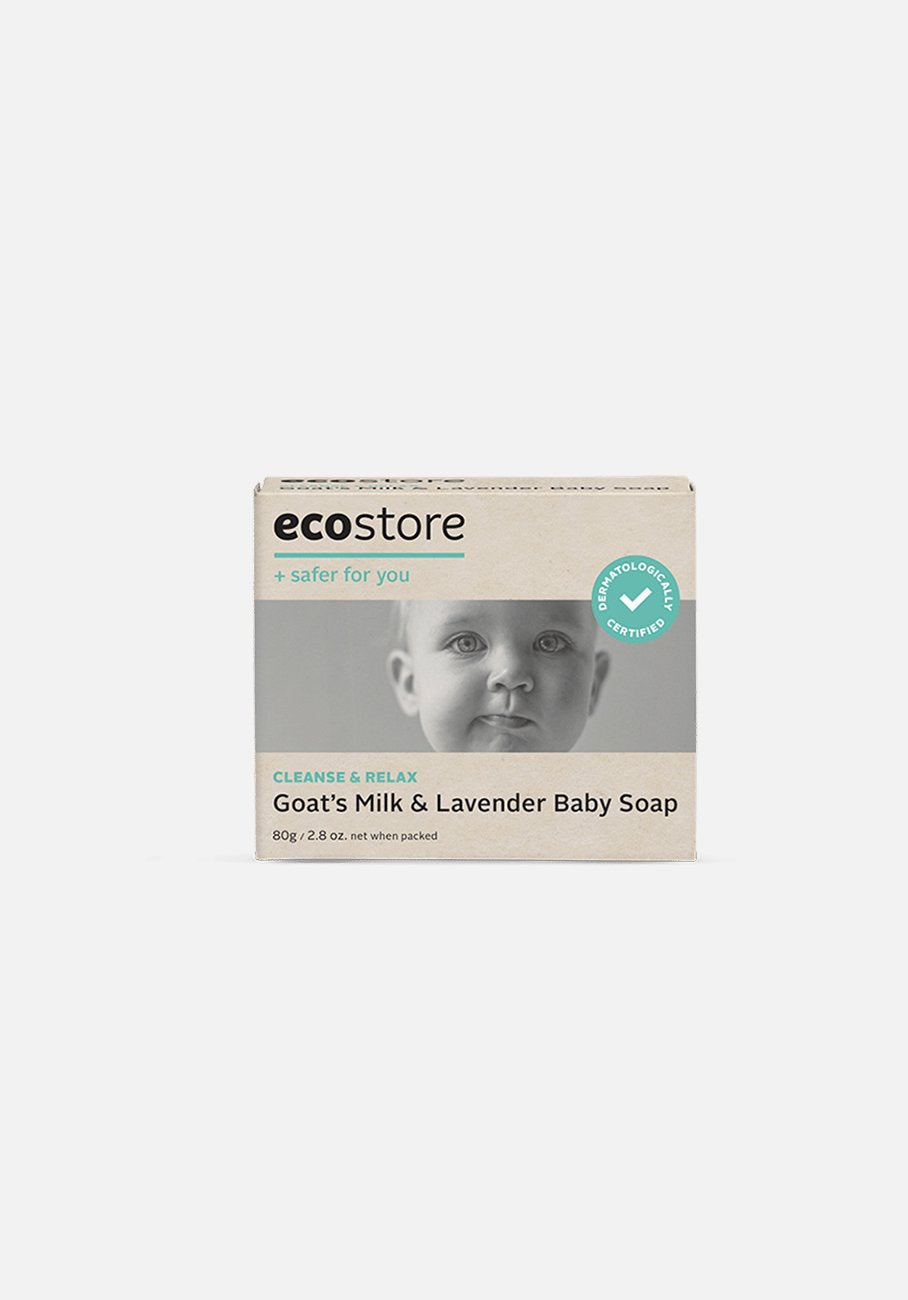 Ecostore - Baby Soap Goats Milk & Lavender - 80g
