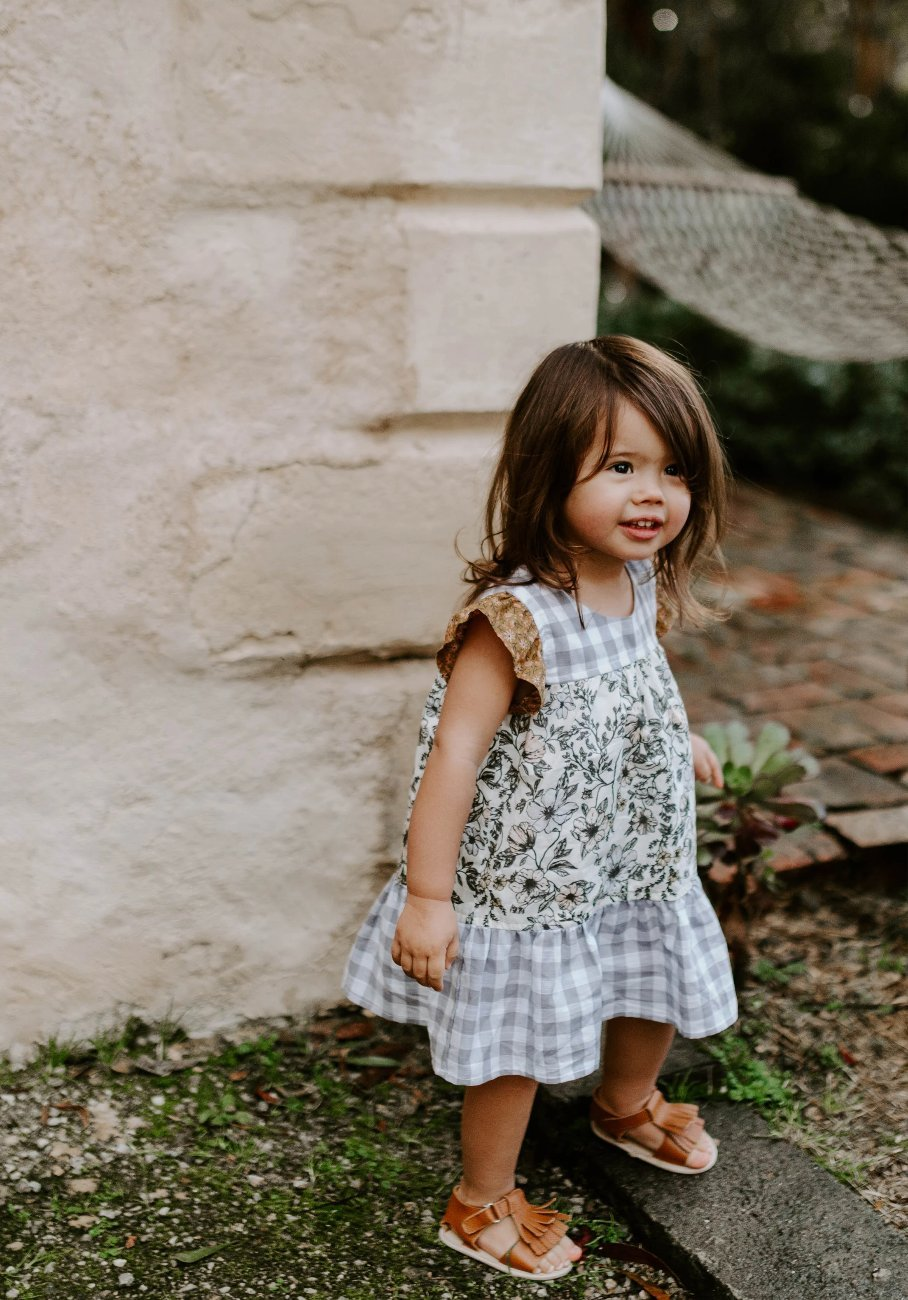 Miann & Co Kids - Dress - Tiered Boho