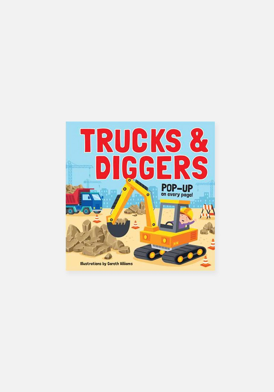 'Trucks and Diggers' by Gareth Williams