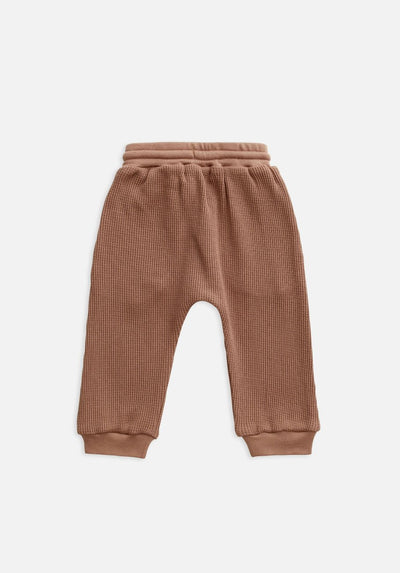 Miann & Co Kids - Waffle Harem Pants - Butterscotch
