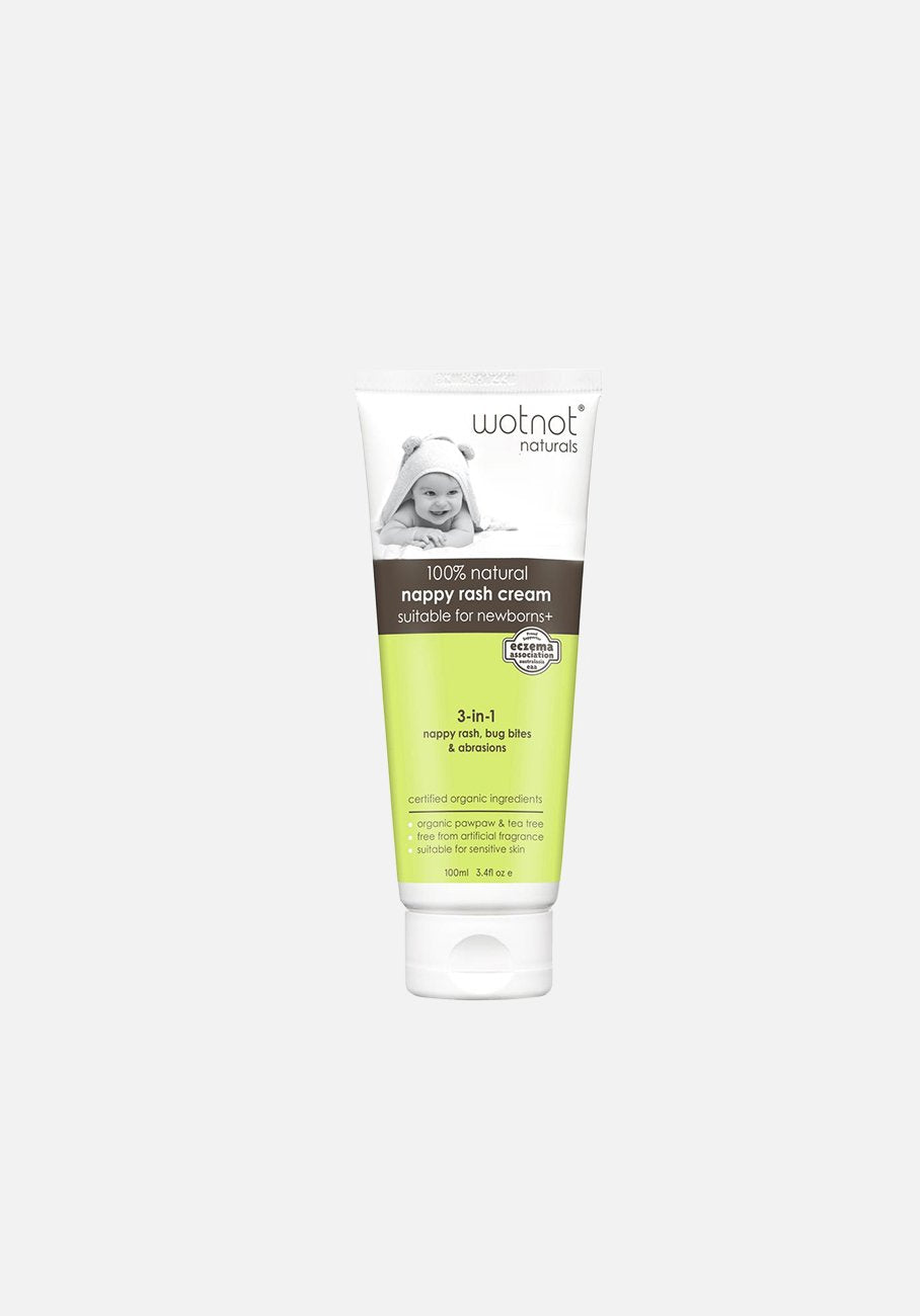WOTNOT - Newborn Nappy Rash Cream - 100ml