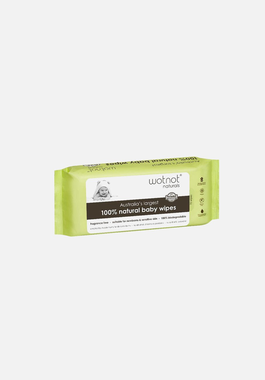 WOTNOT - Alcohol Free Biodegradable Baby Wipes