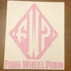 "5"" x 6"" Vinyl Decal- Various Colors Available"