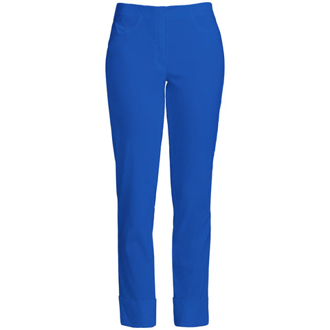Bella 09, Turn up Trousers, Royal Blue -Robell