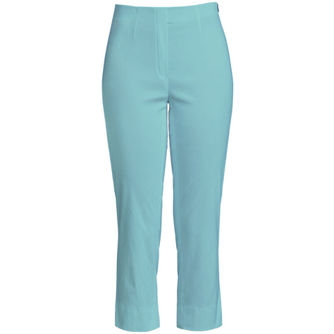 Marie 07, Crop Trouser, Turquoise - Robell