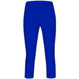 Rose 07, Crop Trousers, Bright Blue- Robell