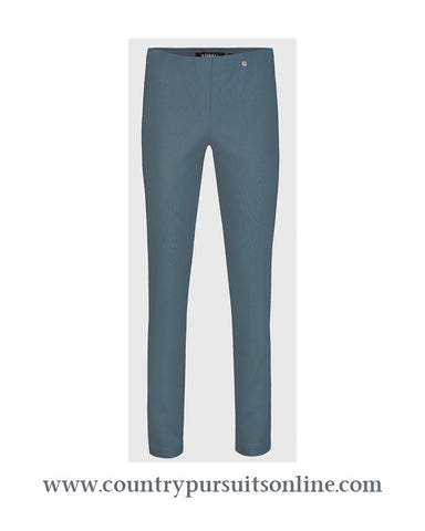 BELLA - GRAPHITE, Winter Bengaline Stretch - Robell Trousers