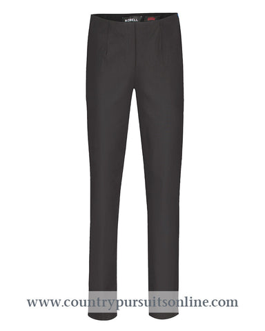 MARIE - BLACK, Winter Bengaline Stretch - Robell Trousers