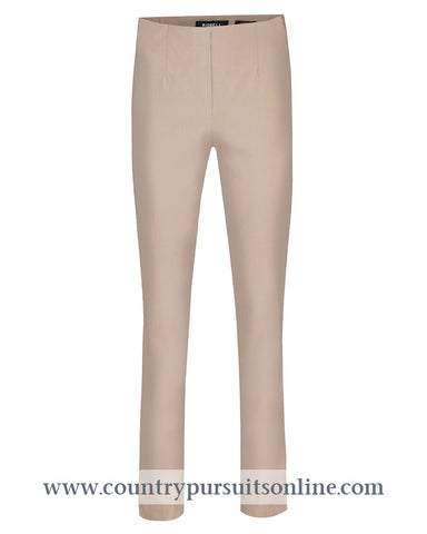 MARIE - TAUPE, Bengaline Trousers, Robell Trousers