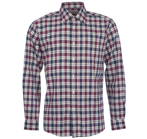 Astwell Shirt, Red - BARBOUR